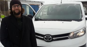 Samochód jak marzenie dla domu dziecka w Podbieli