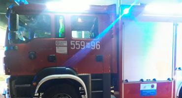 Pożar domu w Woli Karczewskiej