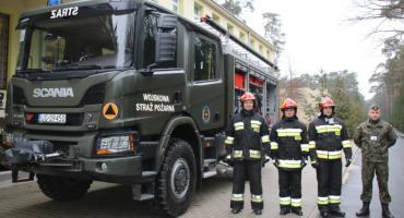 Wóz strażacki od ministra dla WSP WOFiTM w Celestynowie