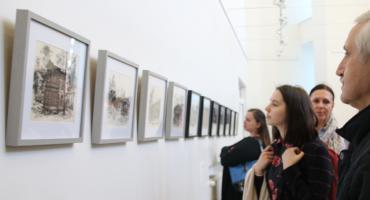 Wystawa rysunków architektury świdermajer