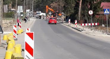 Tunel i przejazd - obecne prace przy modernizacji LK7 na terenie Otwocka