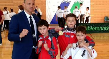 Zawodnicy KSW Bushi na turnieju łotewskim