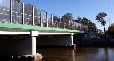 Zderzenie na moście przez Świder