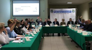 Wójt i rada gminy Celestynów za tunelem