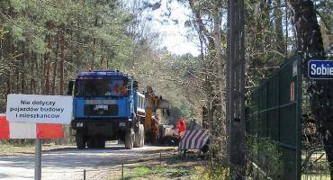Modernizacje dróg w Józefowie