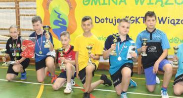 Mistrzowie gminy Wiązowna w tenisie stołowym 2019