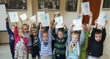 Przedszkolaki z wizytą w otwockiej PBP