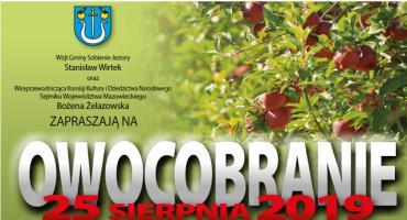 Jabłkowe święto w gminie Sobienie-Jeziory, czyli Owocobranie 2019