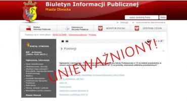"""Przetarg na """"Adaptację budynku SP 12 na potrzeby utworzenia oddziałów przedszkolnych"""" – unieważniony"""