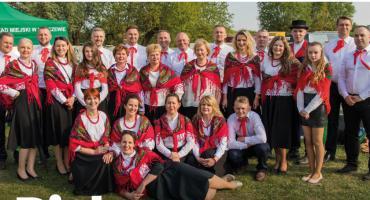 Piskorze z Łukówca w nowych strojach na finiszu projektu EtnoPolska 2019