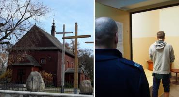 Groził podpaleniem zabytkowego kościoła w Gliniance