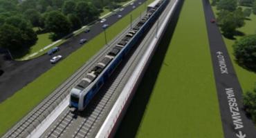 Modernizacja LK7 z Warszawy do Otwocka na raty