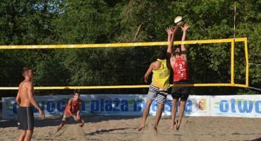 Turniej siatkówki nad Świdrem