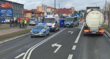 Śmiertelne potrącenie pieszego na ul. Piłsudskiego w Bielsku Podlaskim