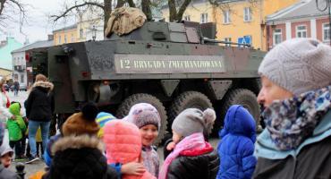 Prezentacja uzbrojenia wojskowego w Wiźnie i Brańsku
