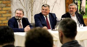 Minister Ardanowski spotkał się z mieszkańcami powiatu bielskiego