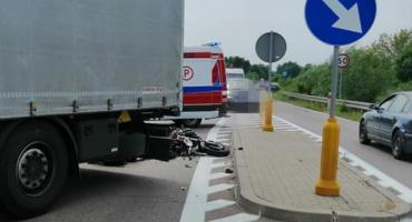 Śmiertelny wypadek w Brańsku – nie żyje motocyklista