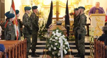 """Pożegnaliśmy mjr Henryka Bańkowskiego ps. """"Fala"""". """"Walczył za kraj, za nas i za Was""""."""