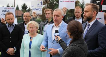 Bielsk Podlaski: Koalicja Obywatelska o S19 i programie socjalnym
