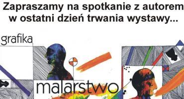Finisaż wystawy i spotkanie z Markiem Zalewskim w ciechanowskim Muzeum