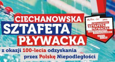 Ciechanowska Sztafeta Pływacka na 100-lecie Niepodległości. Trwają zapisy