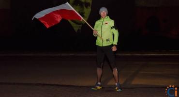 Ciechanowianin przebiegł 100 km na 100-lecie niepodległości [zdjęcia]