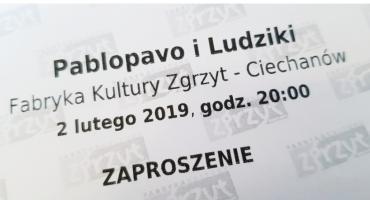 Konkurs! Wygraj wejściówki na Pablopavo i Ludziki