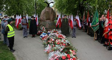 228. rocznica uchwalenia Konstytucji 3 Maja - obchody w Ciechanowie