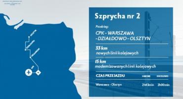 Pociągiem z Ciechanowa do Warszawy w 40 minut? [wideo]
