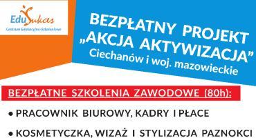 Bezpłatne szkolenia zawodowe w Ciechanowie