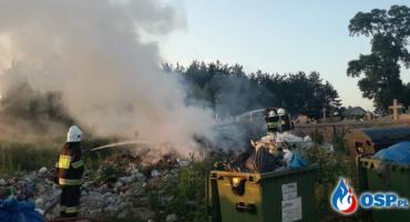 Glinojeck: Kolejny pożar w tym samym miejscu [zdjęcia]