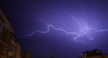 Ostrzeżenie przed burzami w powiecie ciechanowskim