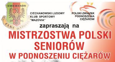 W Ciechanowie ruszają Mistrzostwa Polski w podnoszeniu ciężarów