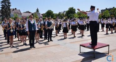 Orkiestry Dęte OSP zagrały w Ciechanowie [wideo/zdjęcia]