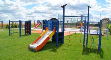 Plac zabaw przy Czwórce też został rozbudowany