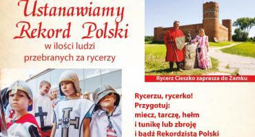 Ciechanów miastem rycerzy - po raz drugi będziemy bić rekord Polski!