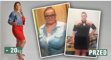 Mimo wakacyjnego sezonu Pani Magda schudła z nami 20 kilo i dzielnie walczy dalej!