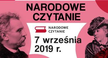 Narodowe Czytanie 2019 w Opinogórze
