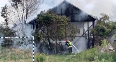 Z ostatniej chwilli: Pożar budynku na ul. Witosa [zdjęcia]