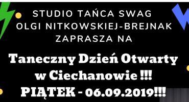 Studio Tańca Swag w Ciechanowie!