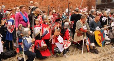Najwięcej rycerzy jest w Ciechanowie. Ustanowiliśmy rekord Polski! [zdjęcia]