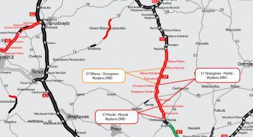 Jest pozwolenie na budowę kolejnego odcinka drogi S7 na północnym Mazowszu