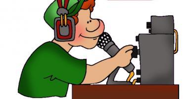 Radiowy poranek w ciechanowskiej MBP