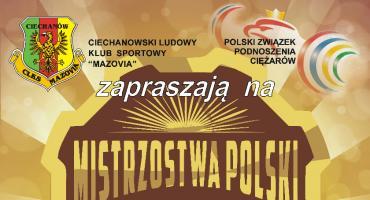 Sportowe emocje w Ciechanowie. Ruszają Mistrzostwa Polski w podnoszeniu ciężarów