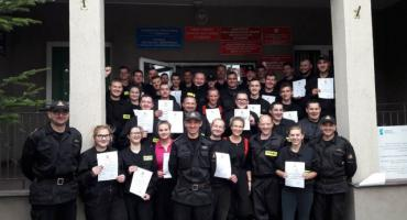 Strażacy OSP z powiatu ciechanowskiego przeszli szkolenie i zdali egzamin [zdjęcia]