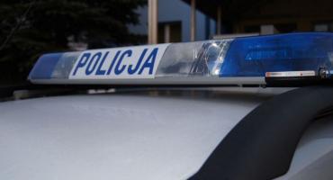 Wpadka młodego kierowcy w centrum Ciechanowa