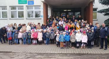 Patriotyczna wizyta Przedszkolaków w Urzędzie Miasta i Gminy Glinojeck