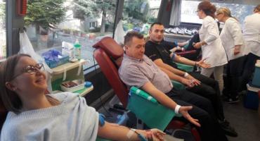 Strażacy z Ciechanowa zebrali kilkanaście litrów krwi
