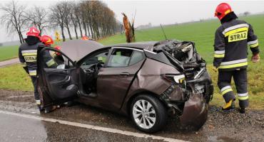 AKTUALIZACJA: Poważny wypadek pod Ciechanowem [zdjęcia]