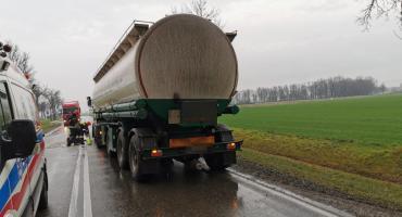 Straż pożarna: Ciężarówka, która uderzyła w Opla, przewoziła 12 ton załadunku